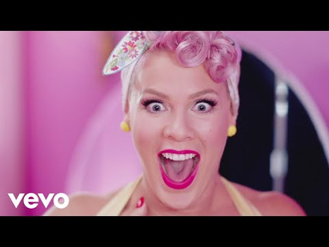 #5 - P!nk - Beautiful Trauma (Official Video)