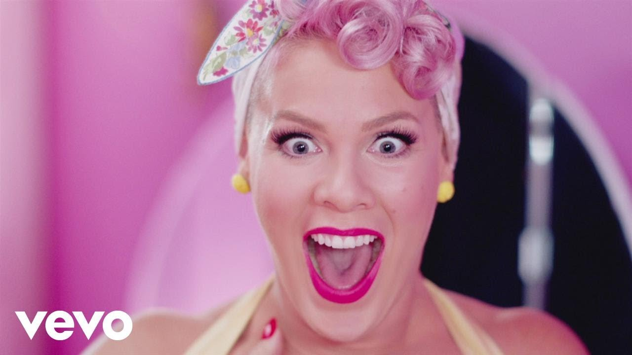 P Nk Beautiful Trauma Official Video Youtube