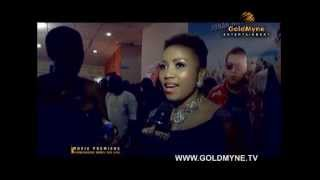 The movie premiere of quotsomewhere down the linequot by Tamara Eteimo