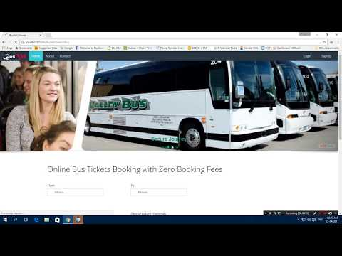 Online Bus Ticket Booking in JAVA