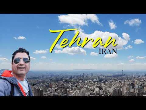 ONE DAY in TEHRAN THE CAPITAL of IRAN