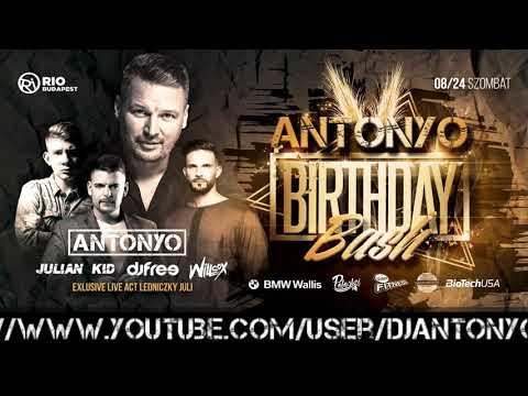 Antonyo Garage Live - 2019.08.14