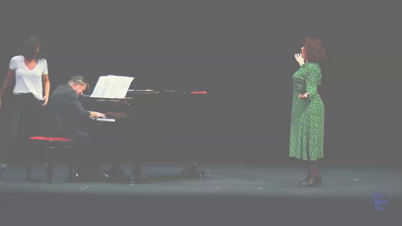 '¿Y si nos enamoramos de Scarpia?'. Albert Boadella y Martina Cabanas. Teatros del Canal