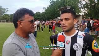 Entrevistas São Raimundo 0 x 2 Caxias