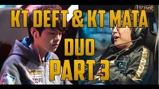 KT Deft  and KT Mata Duo Caitlyn/Nami pt. 3