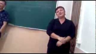 Радость преподавателя по поводу прихода ученика