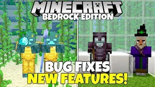 Mojang FIXED Dozens More Major Bugs In Minecraft Bedrock! (1.16 Nether Update Beta)