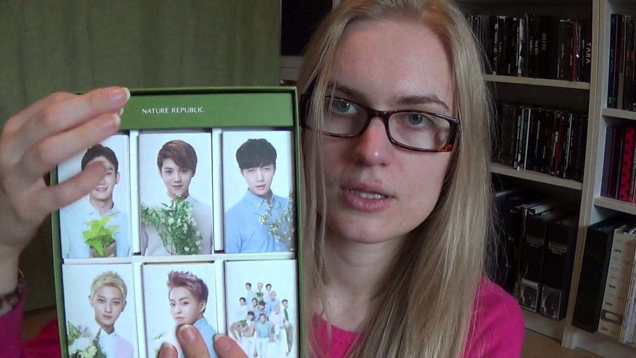 Download Unboxing EXO-M Nature Republic Natural Cleansing Soap SET