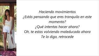 Aitana - Hold (Letra en español)