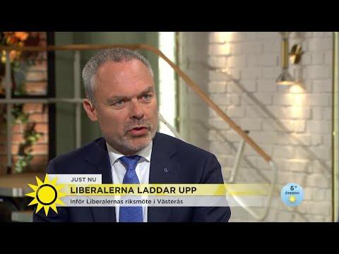 """Jan Björklund: """"Sveriges stora utmaningar är skolan och integrationen"""" - Nyhetsmorgon (TV4"""