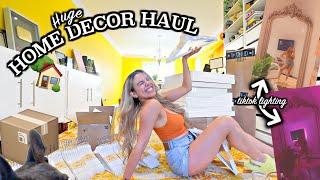 REDECORATING MY BEDROOM! Tiktok room hacks, Ikea, Amazon and Google Home Decor Haul!