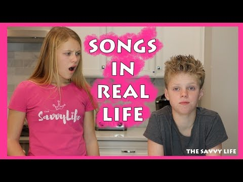 SONGS IN REAL LIFE - Why Siblings Argue