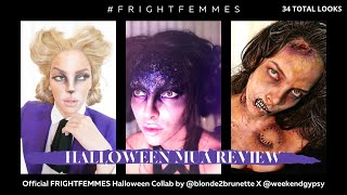 #FrightFemmes15 /// BLONDE2BRUNETTE /// M.U.A. REVIEW