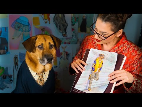 🐾 Suave Paws Doggy Tailor: ASMR Menswear for Dogs🕺🏽