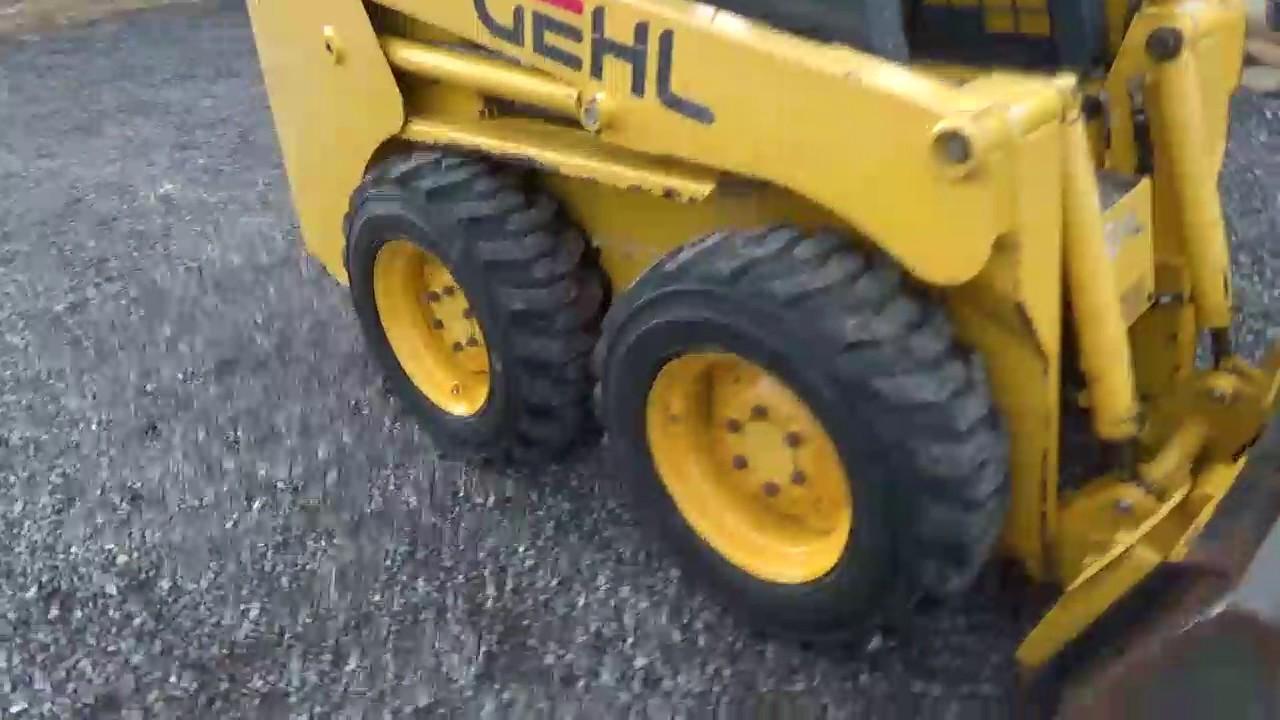 2001 Gehl 3935 SX Rubber Tire Skid Steer Loader Yanmar Diesel For Sale