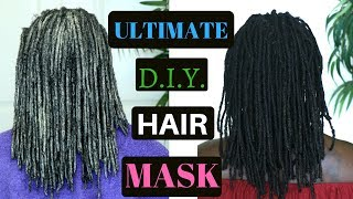 The Ultimate DIY Hair Mask for Dry, Dull and Damaged Hair