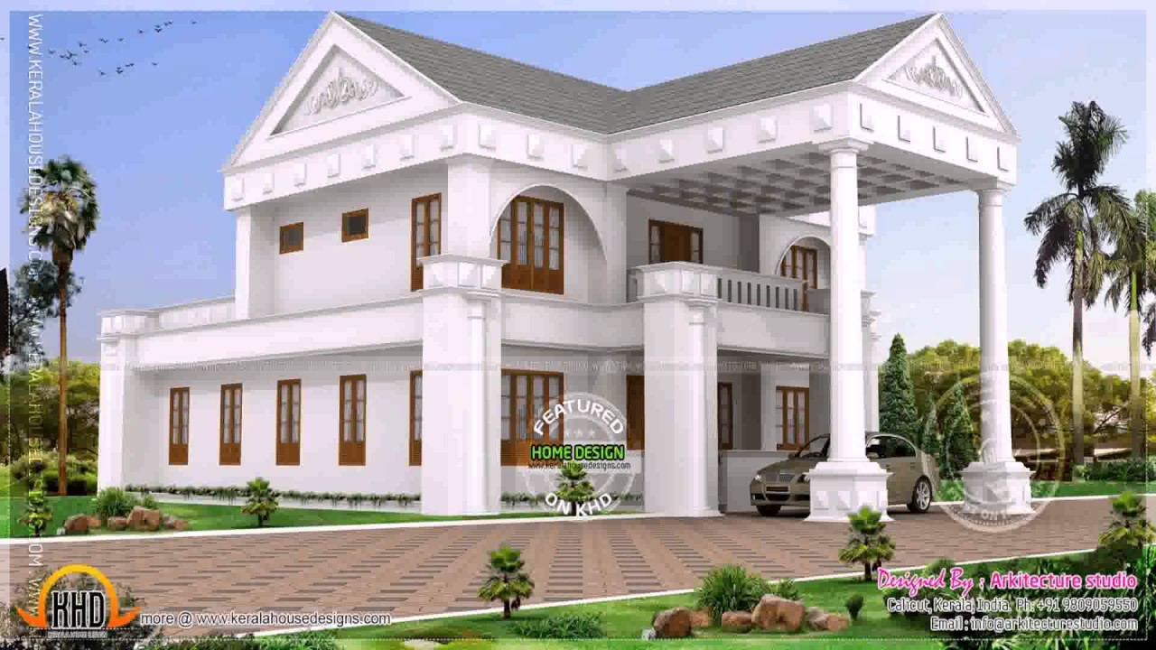Indian House Design For 2000 Sq Ft - YouTube
