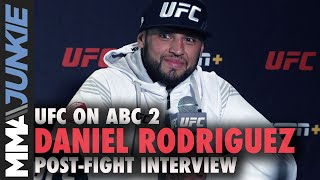 Daniel Rodriguez Tore Pec Muscle Before Mike Perry Win   UFC On ABC 2