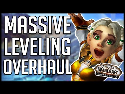 SUPER FAST LEVELING - Shadowlands Level Squish CHANGES EVERYTHING! Level In ANY EXPANSION