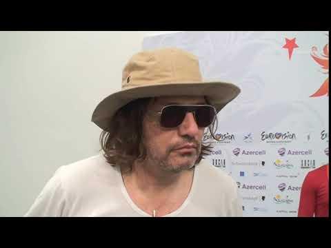 Part Of Rambo Amadeus Interview,  Eurovision 2012   Montenegro   Euro Neuro
