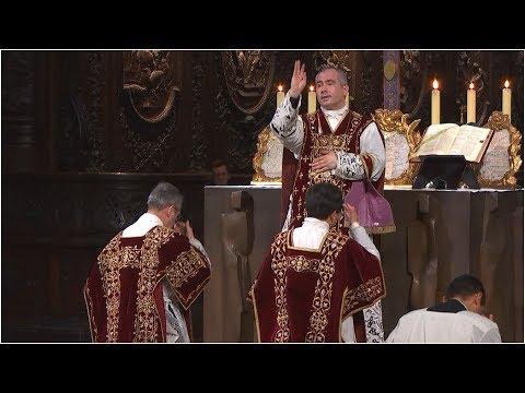 Messe traditionnelle - cathédrale Notre-Dame de Paris - 7 juillet 2017