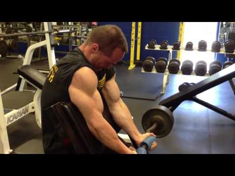 Kent Bierly's ANBF exercise of the day 57. Fat gripz preach