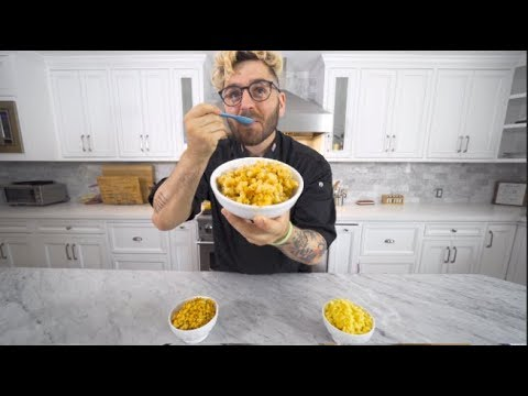 mac n cheese...that's it, that's the title