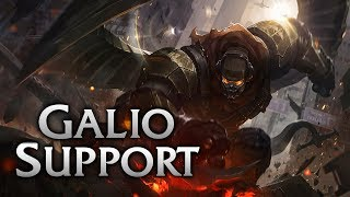 Reworked Commando Galio Support - League of Legends Commentary