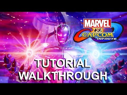 Marvel vs Capcom: Infinite - Tutorial Mission Walkthrough and Infinity Stone Explanations