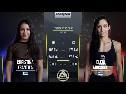 Submissionism 7: Christina Tsantila vs. Eleni Moisidou Full Fight