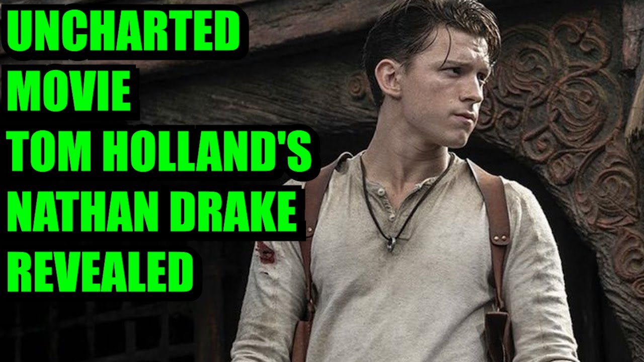 Tom Holland's Nathan Drake revealed in first photo from the long-in ...