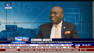 Economic Growth: Expert Suggests 5% Growth To Sustain Recovery