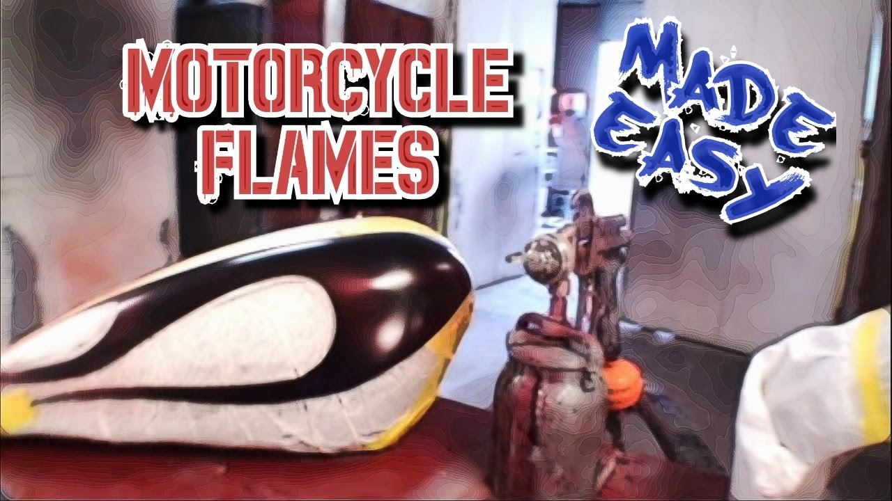 How To Paint Ghost Flames From Start To Finish Custom Paint Tips Part 1