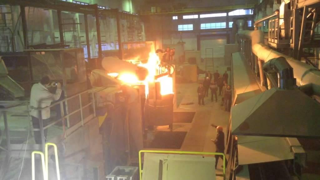 печь плавильная завод