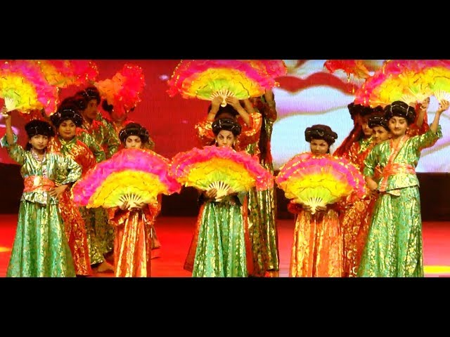 Chinese Dance - Janapriya School 18th Annual Day