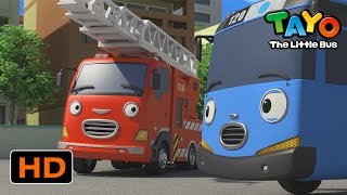 Tayo English Episodes l Is Frank the Fire Truck better than Tayo? l Tayo the Little Bus
