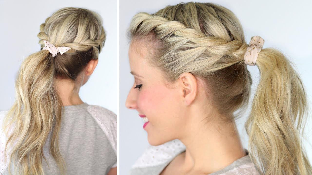 Ponytail Twisted ideas