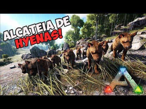 ARK PaD: VIDA DE HYENA  ep.02 --- A GRANDE ALCATEIA DAS HYENAS!!