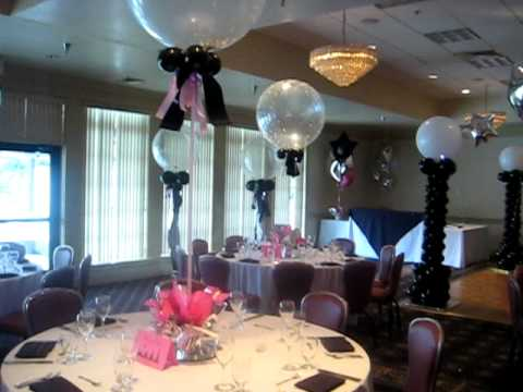 Purple table decoration ideas
