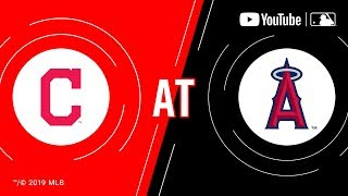 Indians at Angels | MLB Game of the Week Live on YouTube  from
