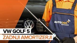 Zamenjavo Blažilnik VW GOLF: navodila za uporabo