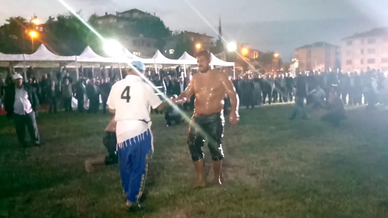 Boyabat Yağlı Pehlivan Güreșleri Finali, Recep Kara-Salih Erinç- 2017-22.10.2017