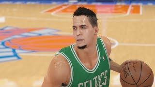NBA 2k14 My Career PS4 First Game of Playoffs Ep 42