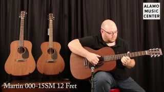 Martin 15 Series: 000-15SM vs 000-15M vs D-15M Comparison