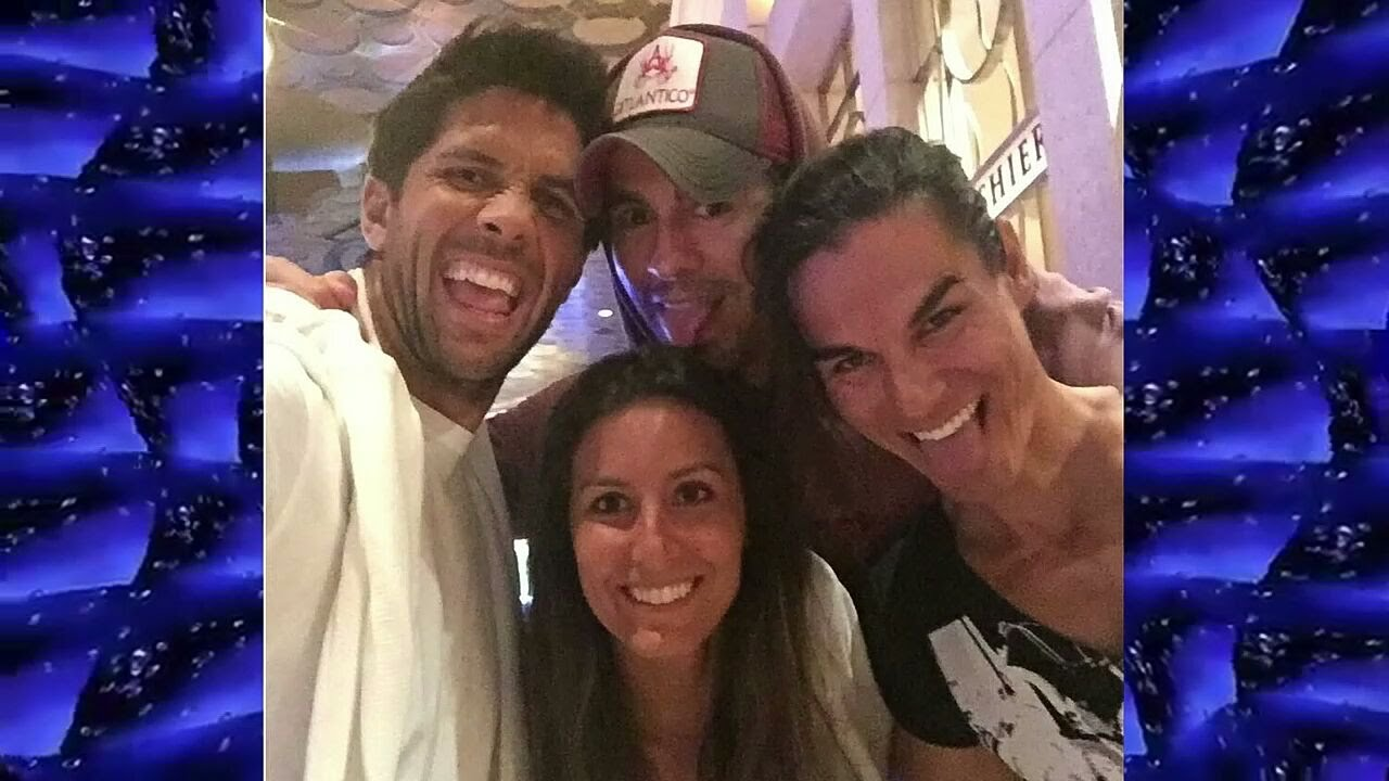 Enrique iglesias and his family