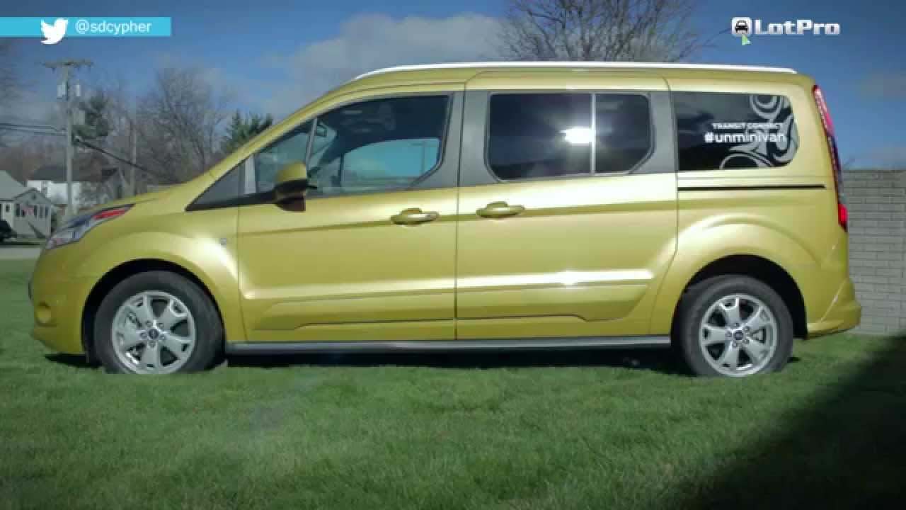 2015 ford transit connect wagon review lotpro youtube