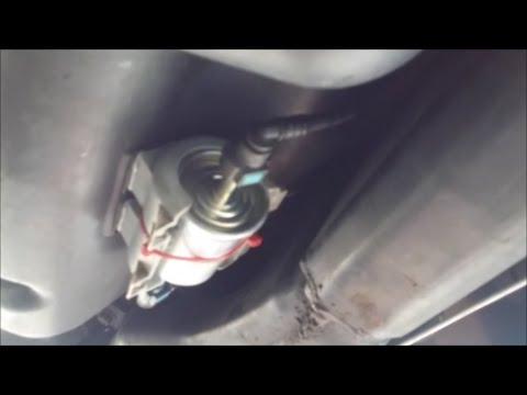 Ford Explorer Fuel Pump Filter Hanging Fix