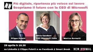 CEO Microsoft Italia, Silvia Candiani, a New Normal Live