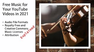 Free Music for Your YouTube Videos in 2021