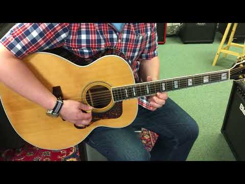 2007 Guild F-512 12 String Guitar Demo at Ear Craft Music Dover NH